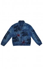 High Wave Acid Washed Denim Jacket