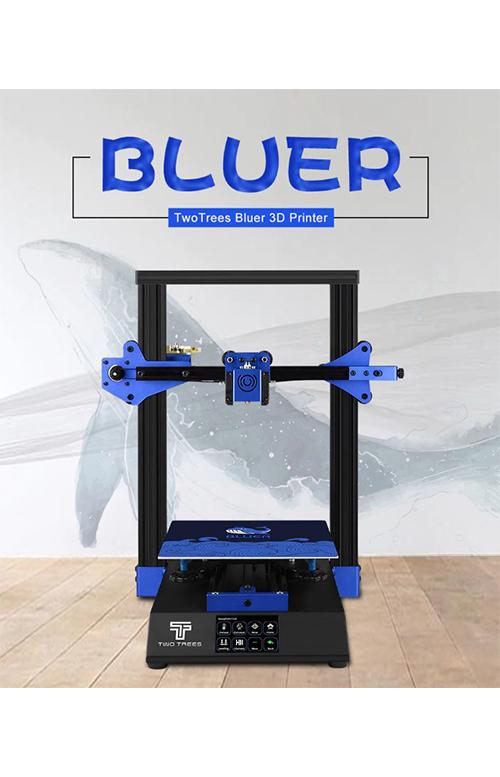 Профессиональный 3-D принтер BLUER