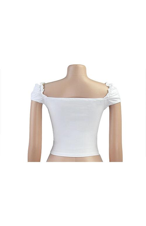 Винтажная блузка на завязках