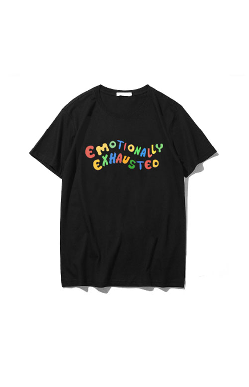 t-shirt emotionally exhausted
