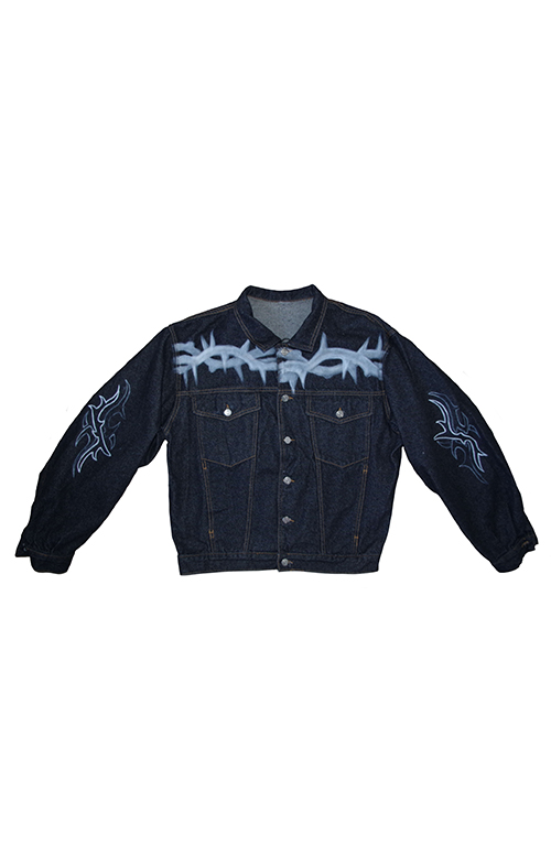 044 Klan x High Wave Denim Jacket