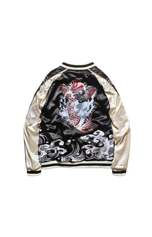 Бейсбольные куртки в китайском стиле